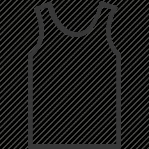 clothes, fashion, singlet, underwear icon