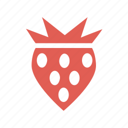cooking, dessert, diet, farming, food, fruits, strawberries icon