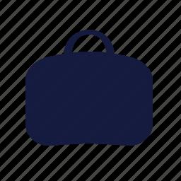 bag, laptop, luggage, travel icon