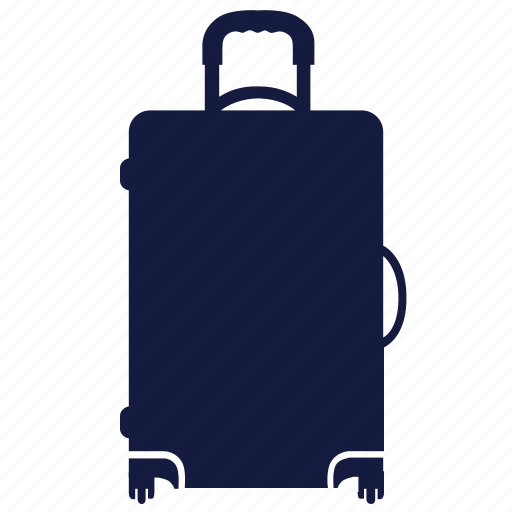 bag, luggage, suitcase, travel, woman icon