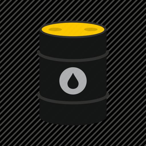 barrel, crude, gas, logo, oil, petroleum, power icon