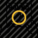 hand, sport, round, ring, ufc icon