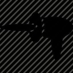 alien, gun, laser, weapon icon
