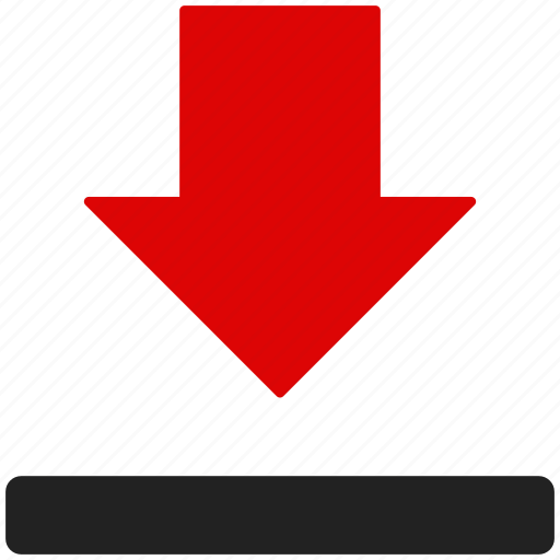 disk, down, down load, download, storage icon