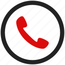call, chat, contact, phone, talk, telephone icon
