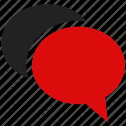 bubble, chat, conversation, envelope, message, speech, talk icon