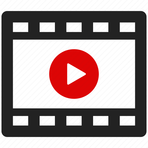camera, film, movie, multimedia, play, video icon