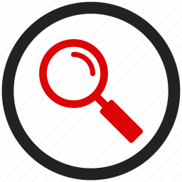 find, glass, magnifier, magnifying, search, view icon