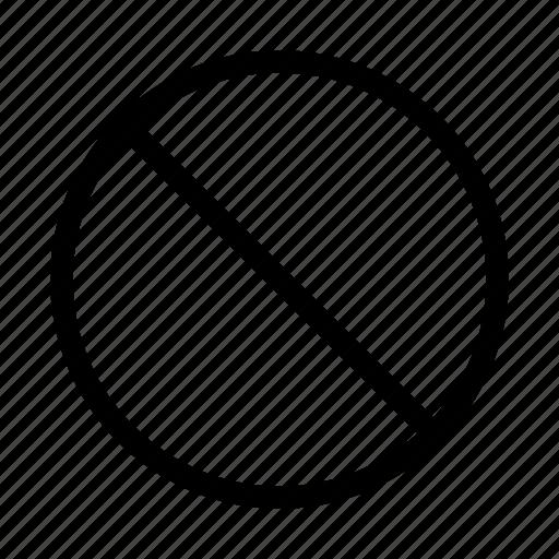 cancel, closed, decline, denied, negative, no icon