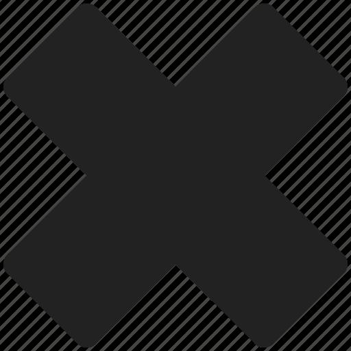 cancel, close, closed, delete, exit, stop icon