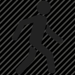 man, people, person, running, user, walk, walking icon