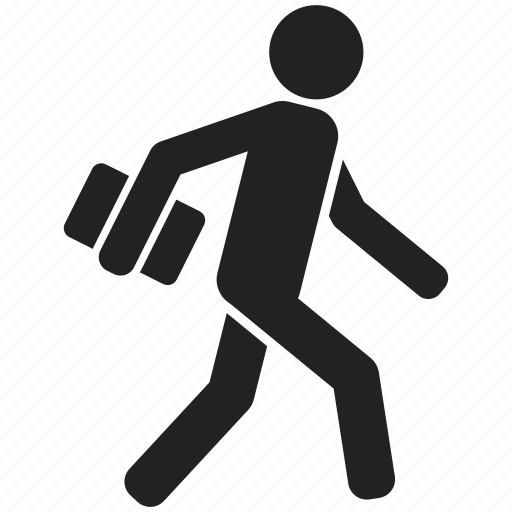 Man, person, run, running, user, walk, work icon | Icon ...