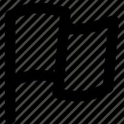 flag, highlight, label, mark, tag icon
