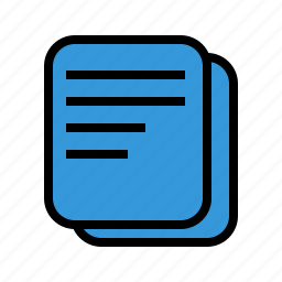 document, file, files, office, paper icon