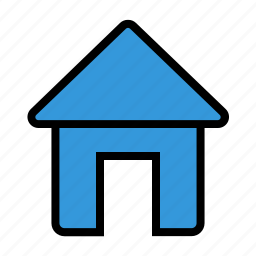 construction, estate, home, house, office icon