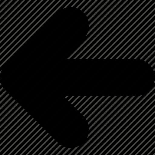 arrows, back, direction, left, navigation icon