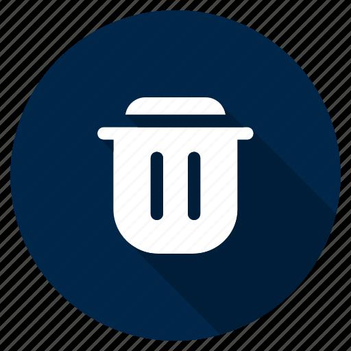 delete, recycle, remove, spam, trash, ui, ux icon