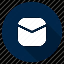 communication, envelope, letter, mail, message, ui, ux icon