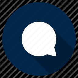 bubble, chat, conversation, message, speech, ui, ux icon