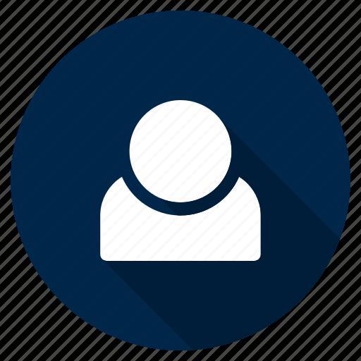 account, human, people, profile, ui, user, ux icon