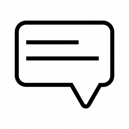 chat, dialogue, message, quote, speech icon