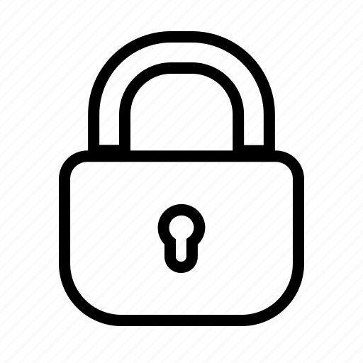 access, denied, lock, padlock, password, secure icon