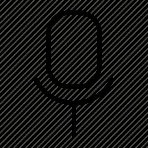 mic, record, speaker, volume icon