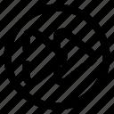 arrow, basic, bold, fast, forward, navigation, ui icon