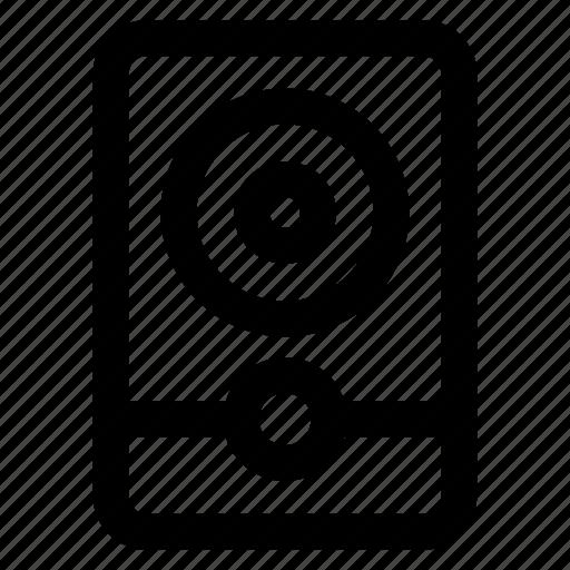 Audio, basic, multimedia, music, sound, speaker, ui icon - Download on Iconfinder