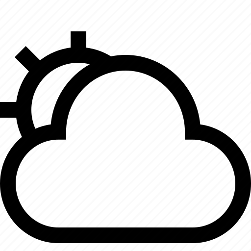 cloud, cloudlet, cloudy, cloudy day, cloudy weather, partly cloudy, weather icon