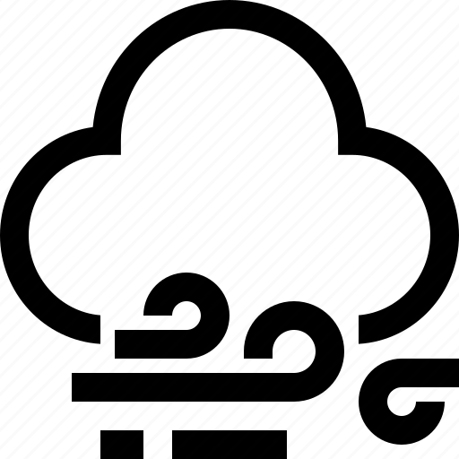 cloudy, rain, storm, stormy, weather, wind icon