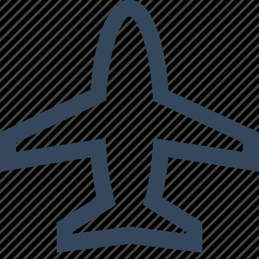 aeroplane, aircraft, airplane, flight, plane icon