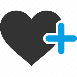 add, bookmark, heart, like, love, new, plus icon