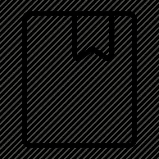 bookmark, mark, ui icon