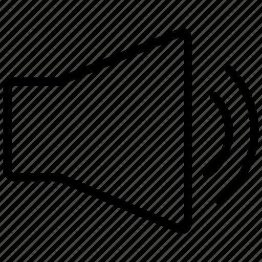 Audio, music, sound, speaker, ui icon - Download on Iconfinder