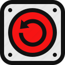 clean, hard reset, reinstall, reset icon