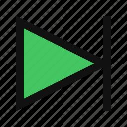 arrow, music, next, next button, next icon, next song, play next icon