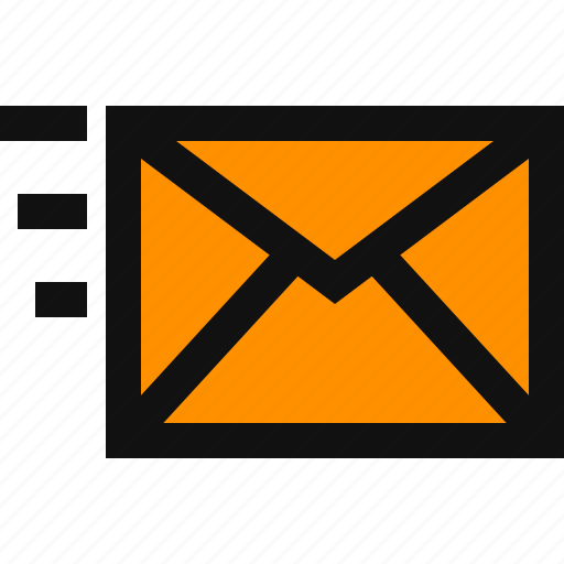 email, fast email, fast mail, message, post, send, sent email icon