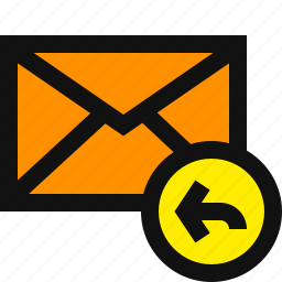email reply, reply, reply button, reply email, reply message, respond, respond email icon