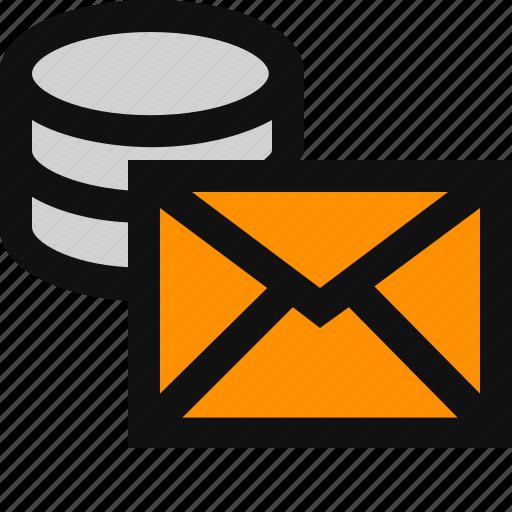 email, email storage, message storage icon