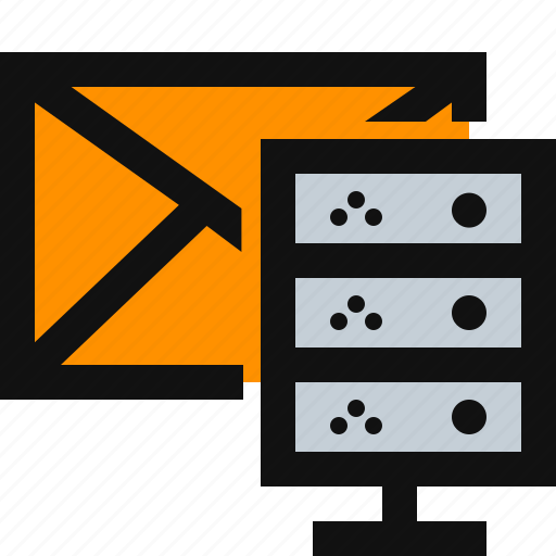 email, email database, server icon