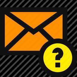 anonymous, anonymous email, anonymous mail, email, suspect, suspicious icon