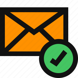 email, email status, mail sent, mail status, message sent, message status icon