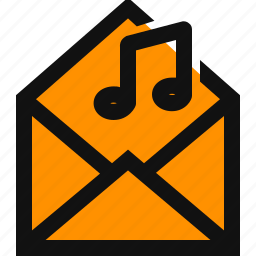 audio email, music, music attachment, music data, music email, music mail, sound icon