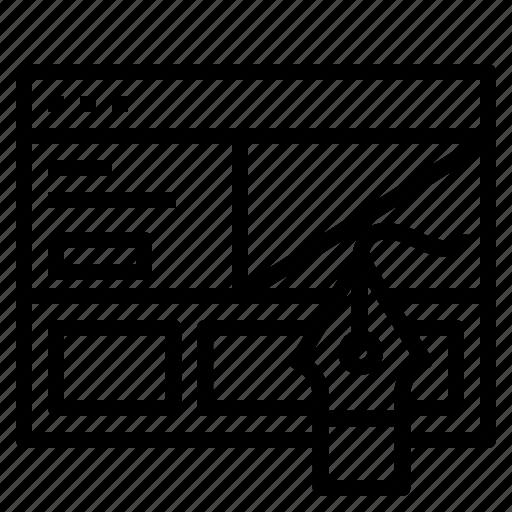 design, prototype, ui, web, website icon