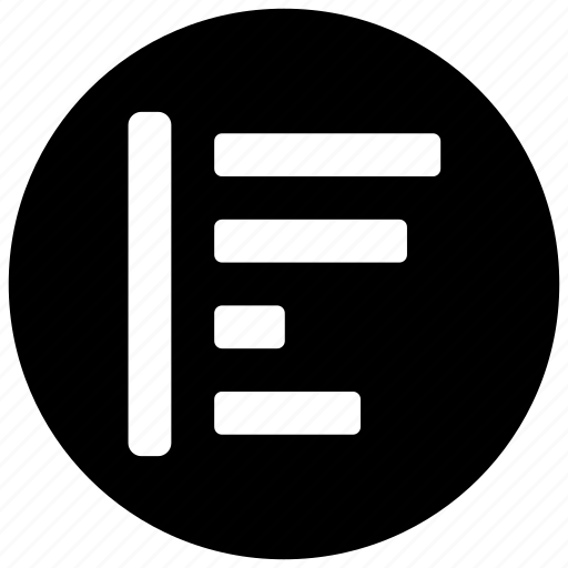 align, align left, alignment, left, text icon icon