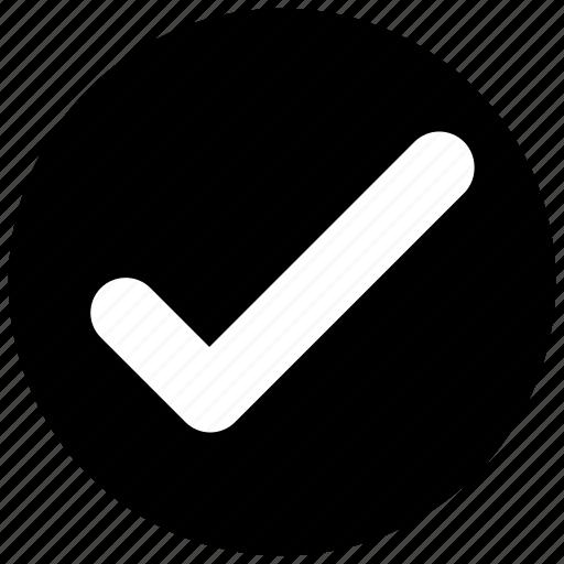 check, check mark, complete icon icon