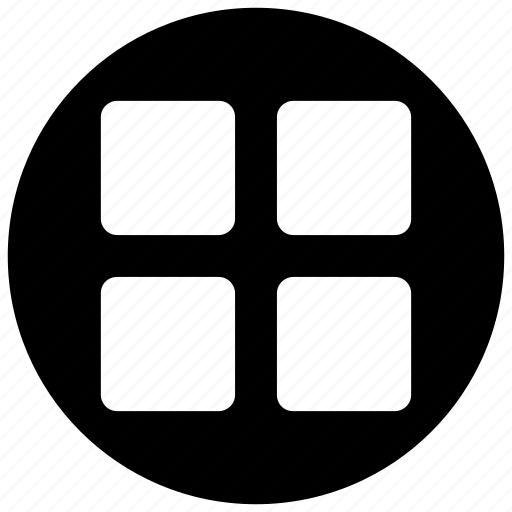 grid, list, menu, option icon icon