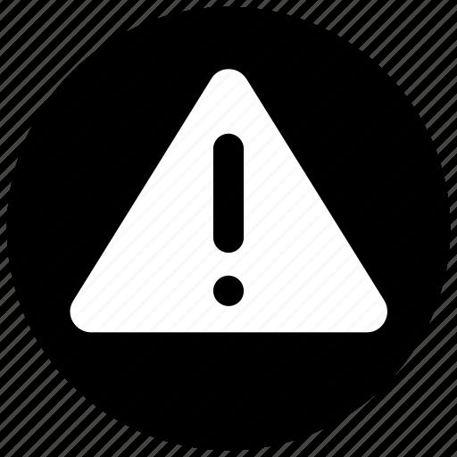 alert, attention, danger, error icon icon