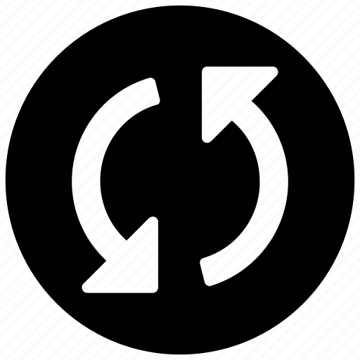 arrow, circle, refresh, reload, rotate, sync, update icon icon